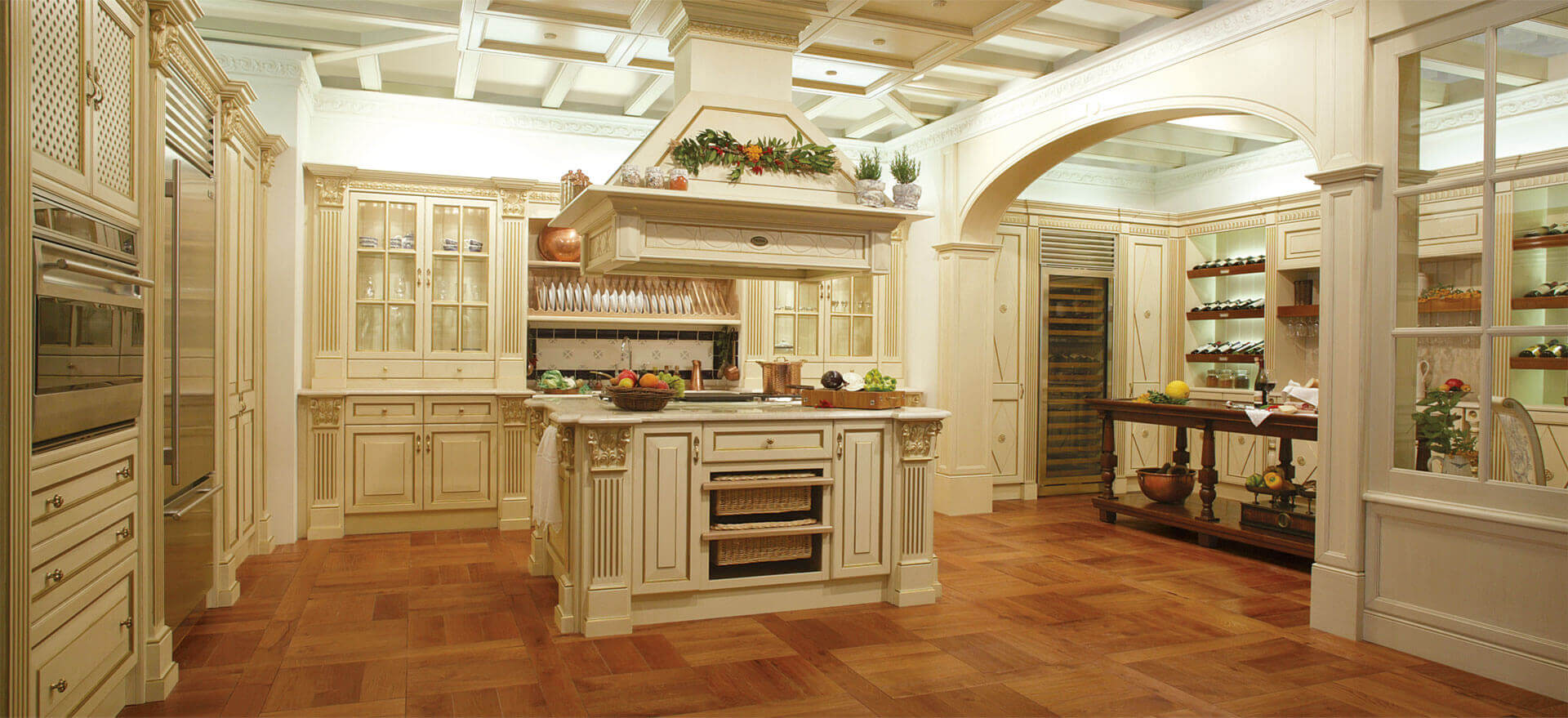 Top 65 luxury kitchen design ideas exclusive gallery - Luxury kitchen cabinets ...