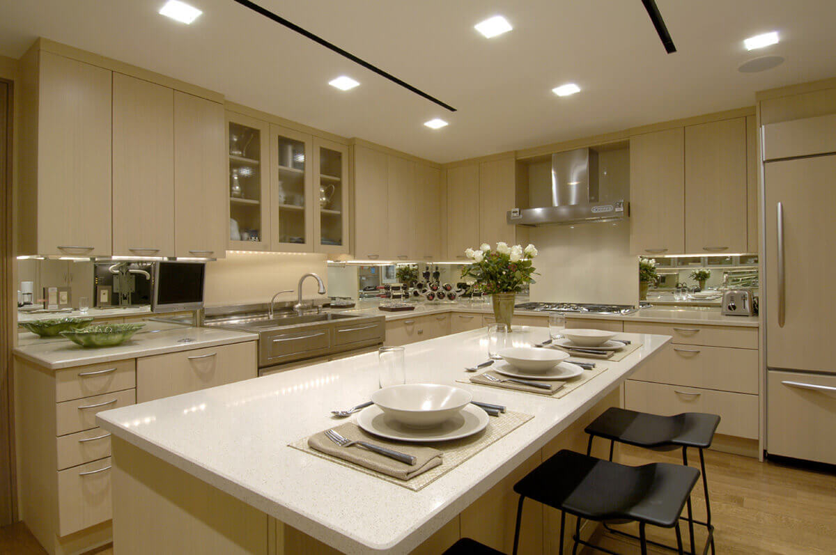 Top 65 luxury kitchen design ideas exclusive gallery for Kitchen ideas for condos