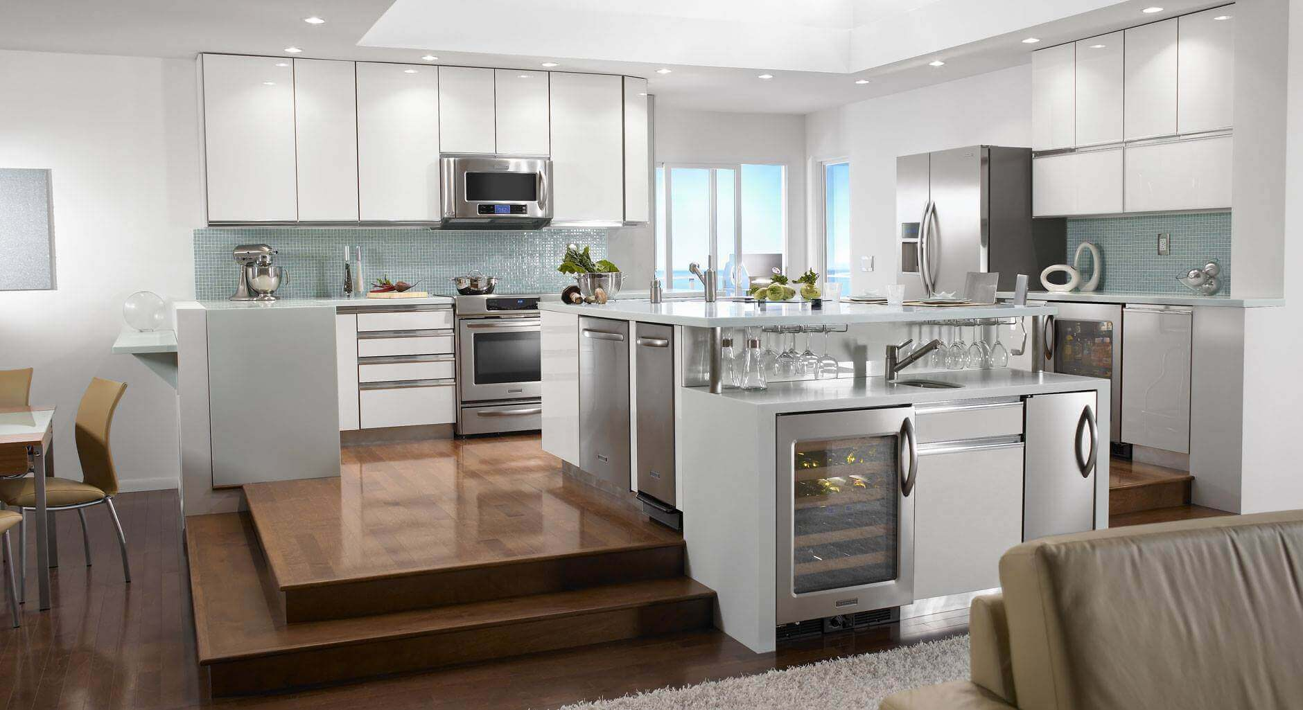 Top 65 luxury kitchen design ideas exclusive gallery for Luxury oven