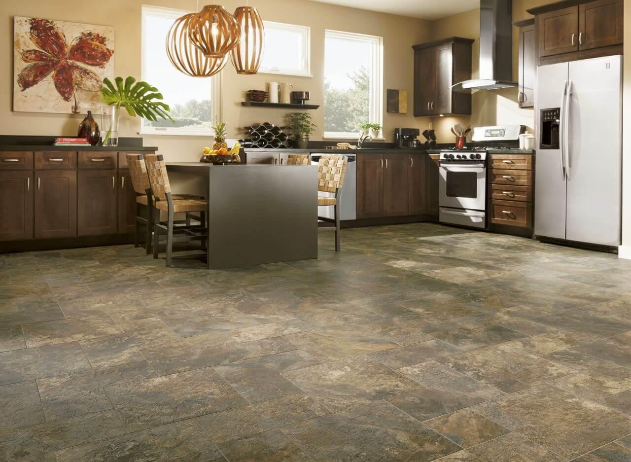 Top 65 luxury kitchen design ideas exclusive gallery for Luxury kitchen flooring