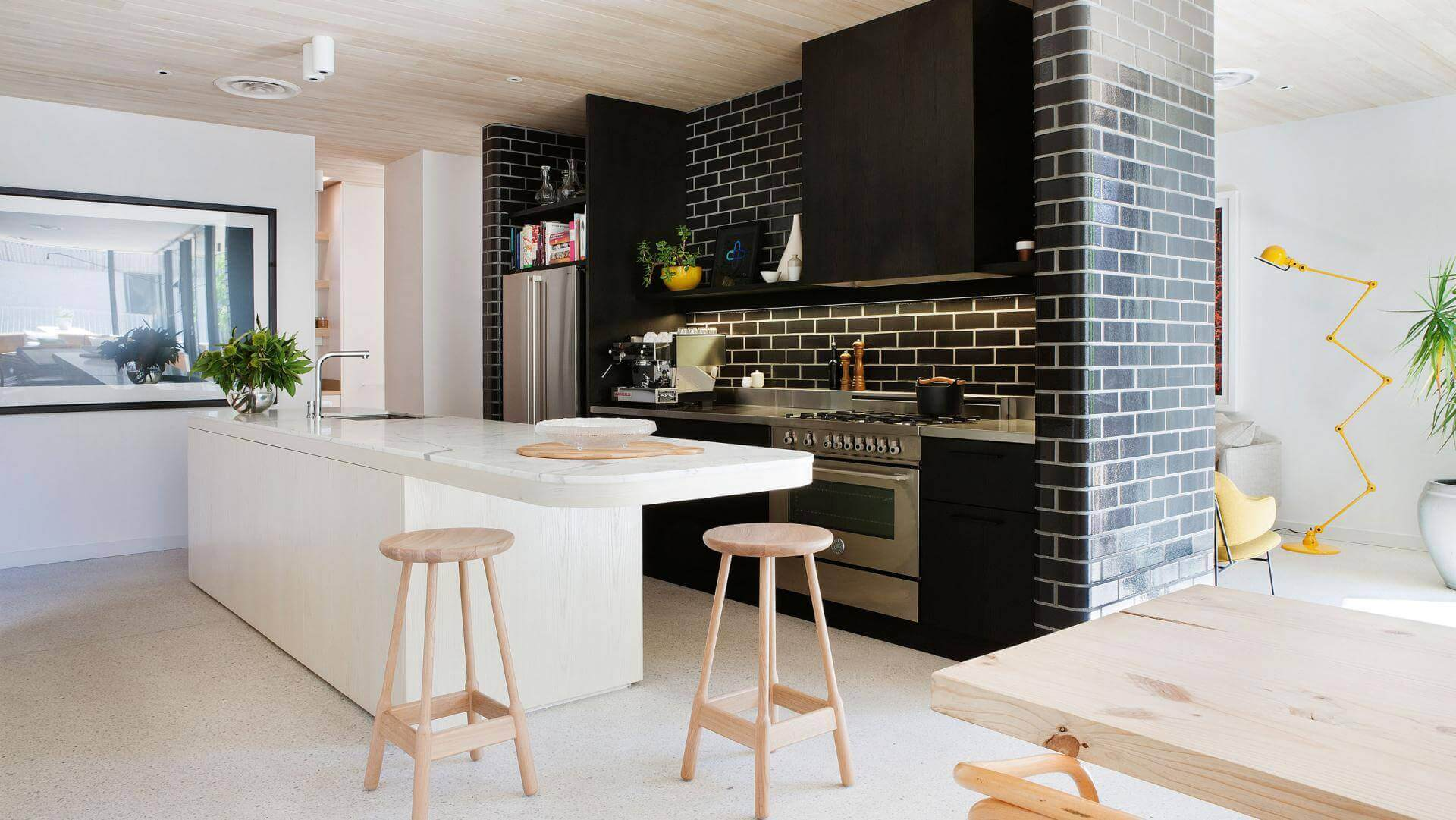 Modern Kitchen Designs With Scullery