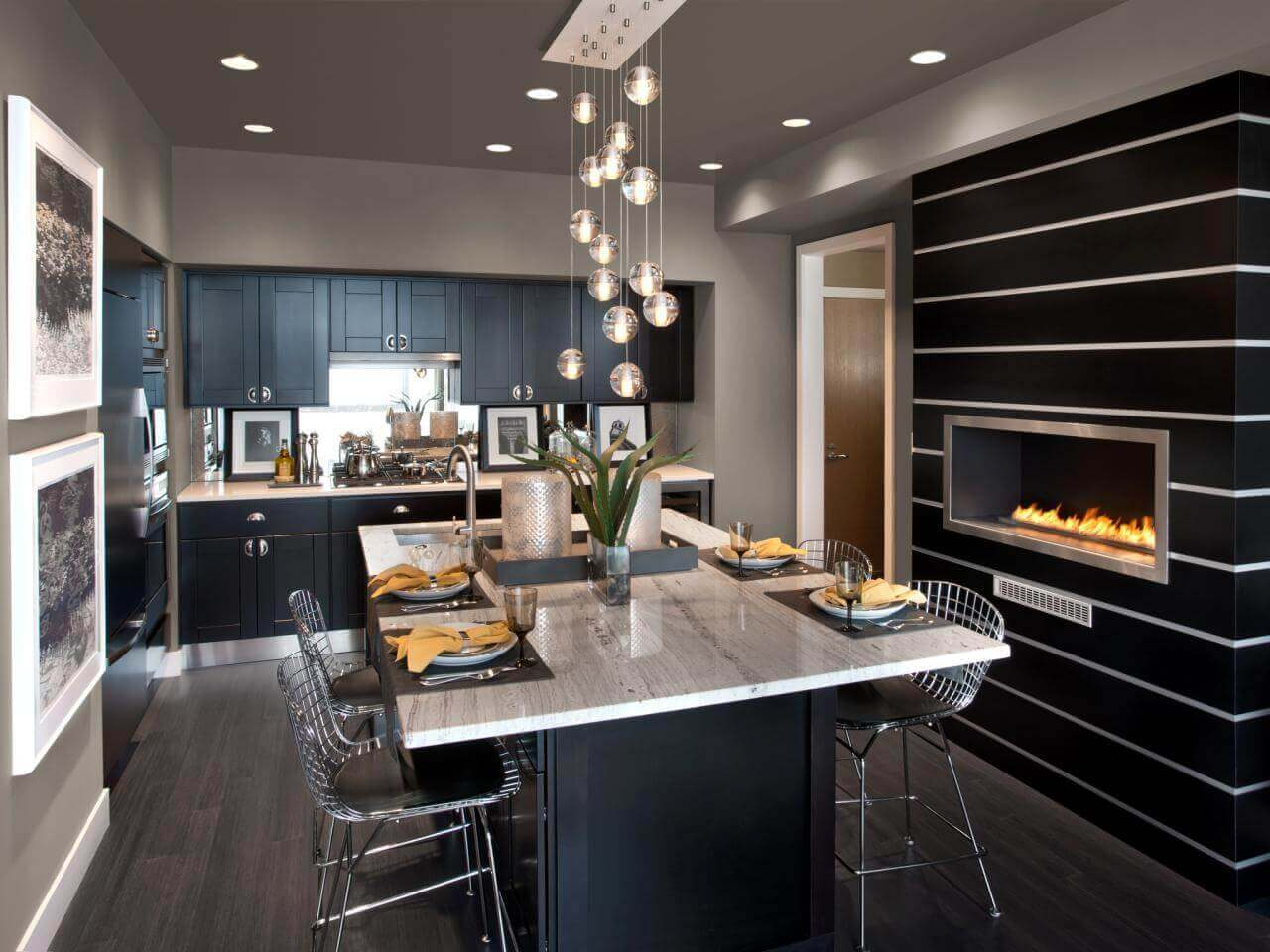 68 deluxe custom kitchen island ideas jaw dropping designs - Modern kitchen island with seating ...