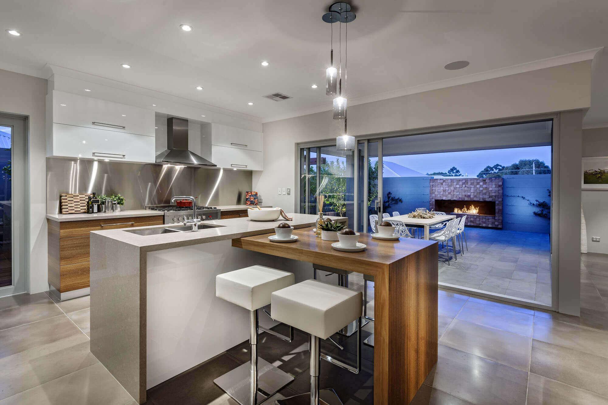Modern Kitchen Islands with Breakfast Bar