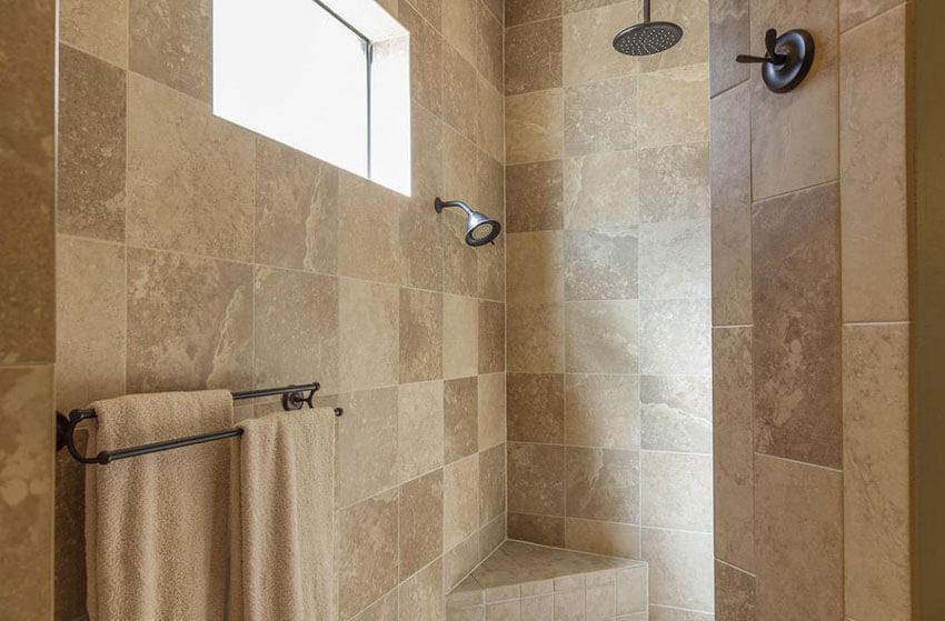 21+ Travertine Shower Ideas (Bathroom Designs) -