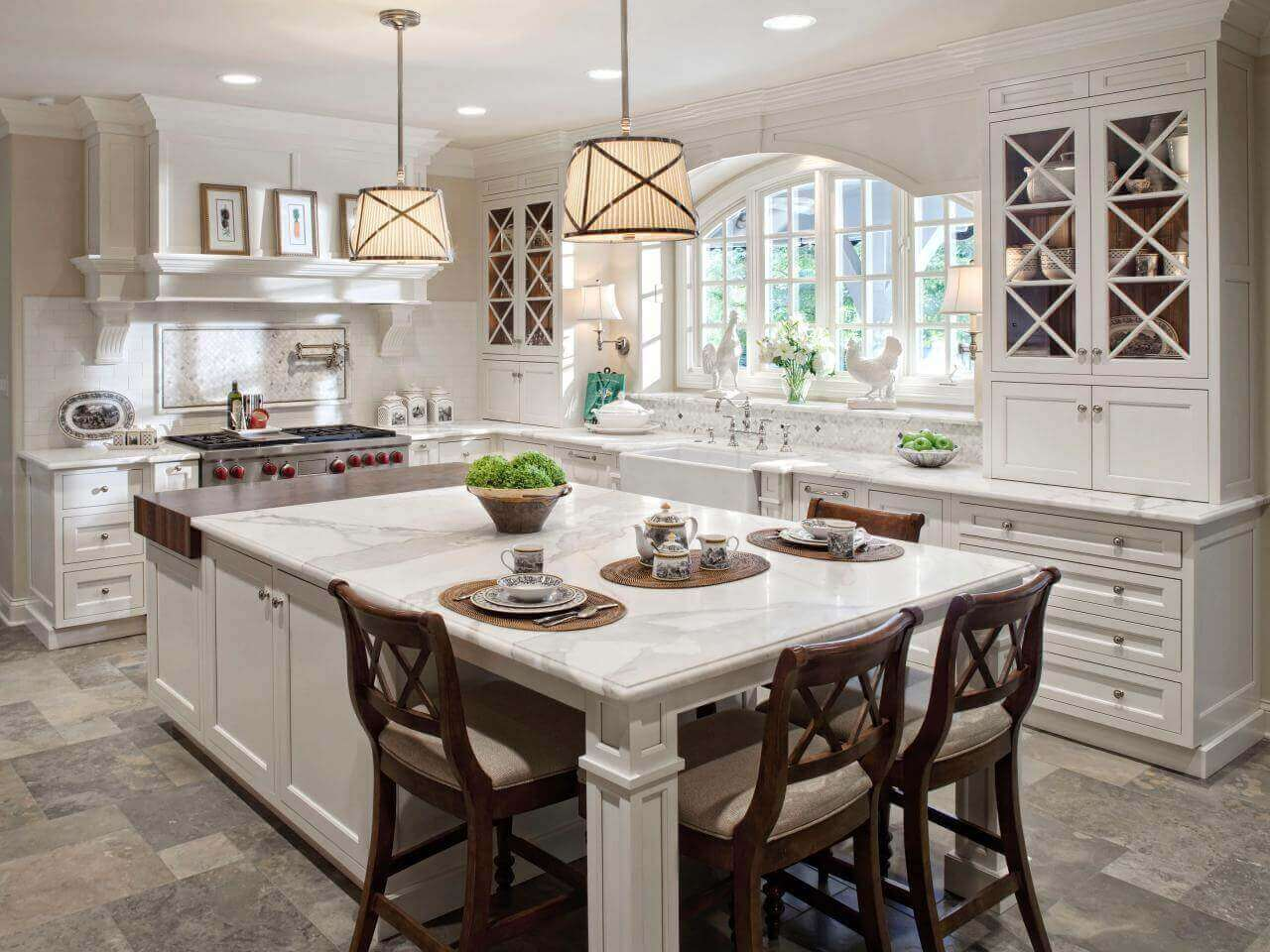 12+Deluxe Custom Kitchen Island Ideas (Jaw Dropping Designs)