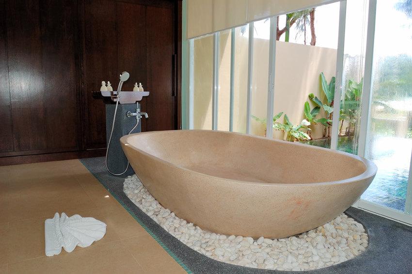 resort bathtub retreat