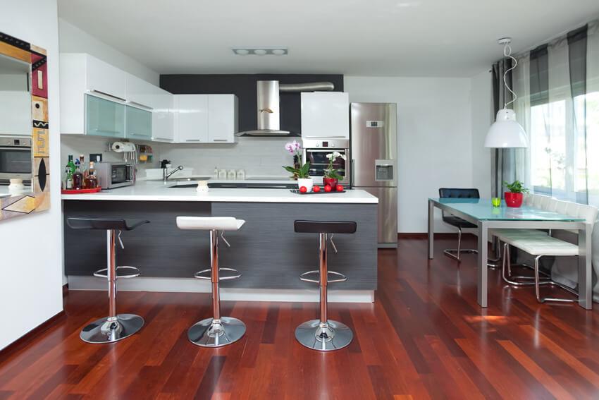 Small U Shaped Modern Kitchen Design