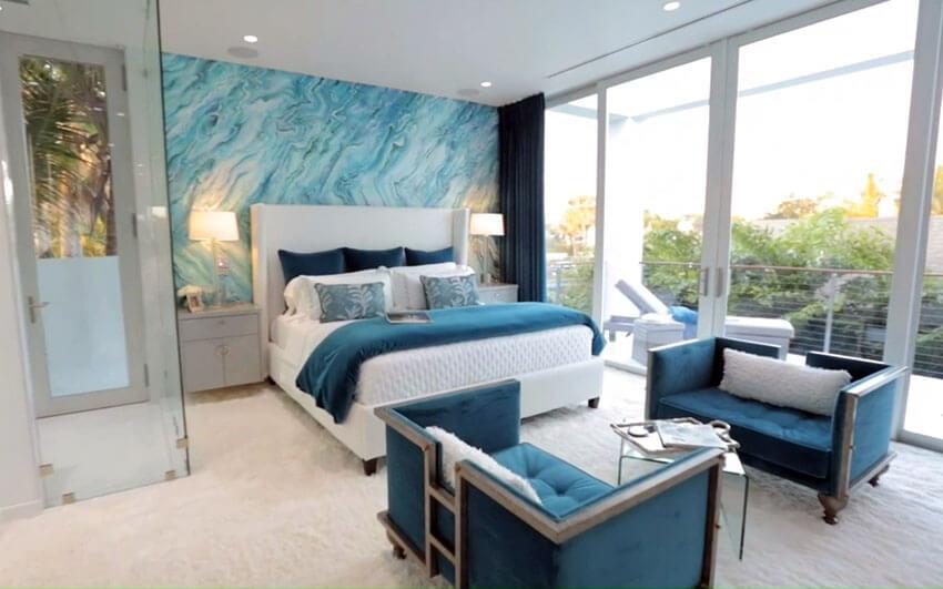 Bedroom Colors That Pop