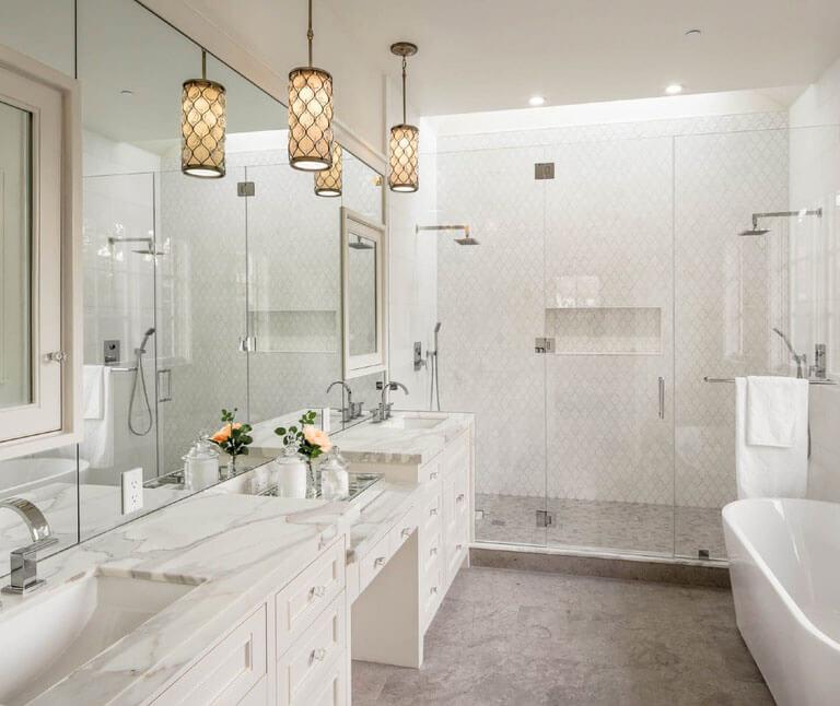 21 Bathroom Pendant Lighting Design Ideas