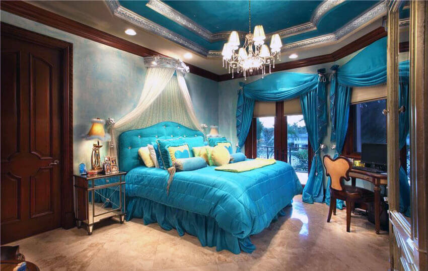 25 Teal Bedroom Ideas (Photo Gallery) - Colors, Options and ...
