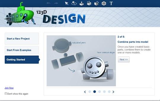 123d design software
