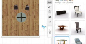 3D interior design and furniture software