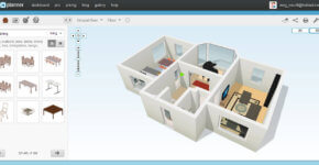 FloorPlanner is anapplication for doing free home design online