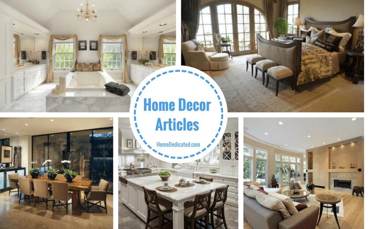 Home Decor Articles