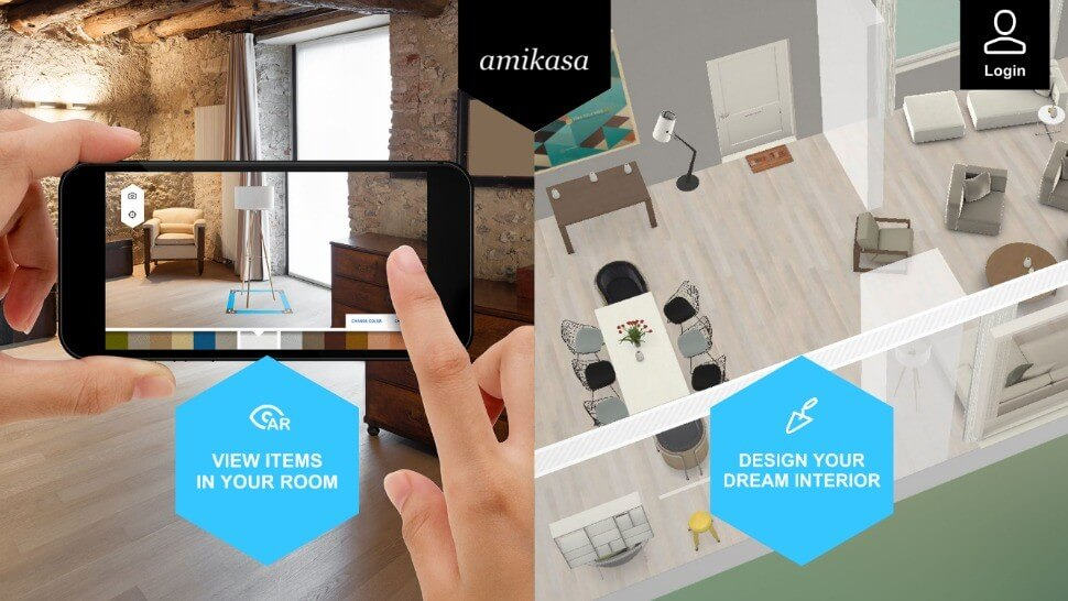 amikasa applications for design houses - Interior Design Applications