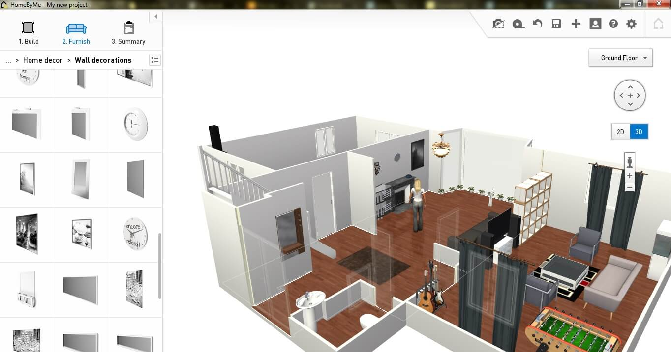 Top 10 best applications to make house plans news and - Home decorating design software free ...