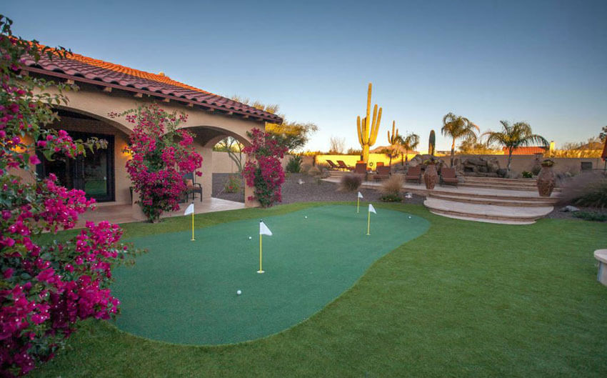 +25 Golf Backyard Putting Green Ideas