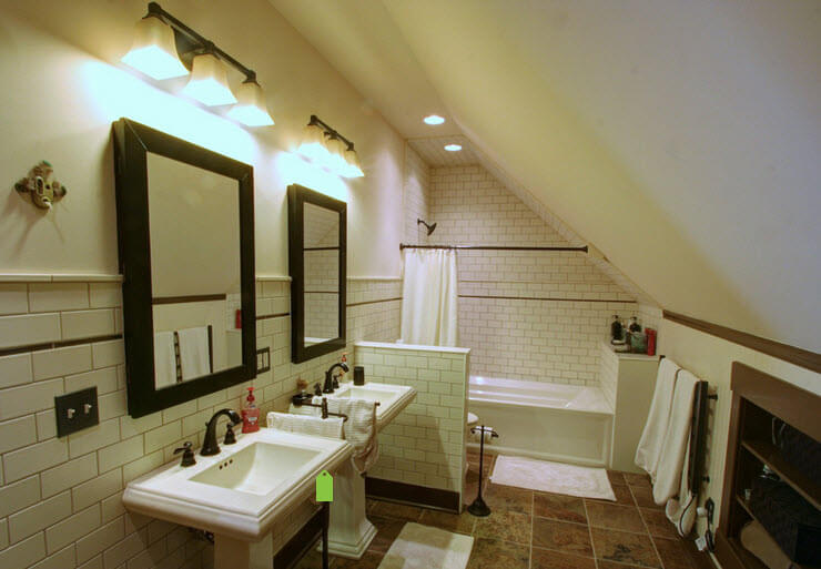 Lighting Basement Washroom Stairs: How To Design A Bathroom Under The Staircase