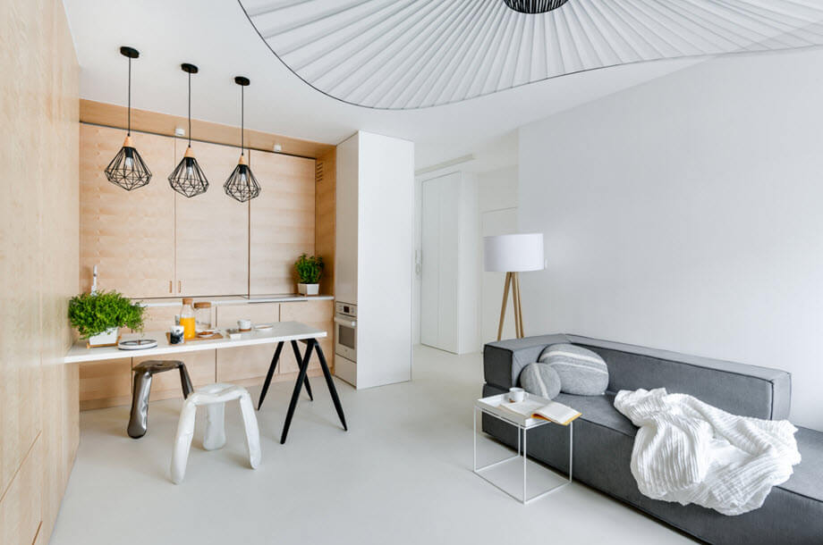 Small duplex apartment plan discover harmony in simplicity - Harmony in interior design ...