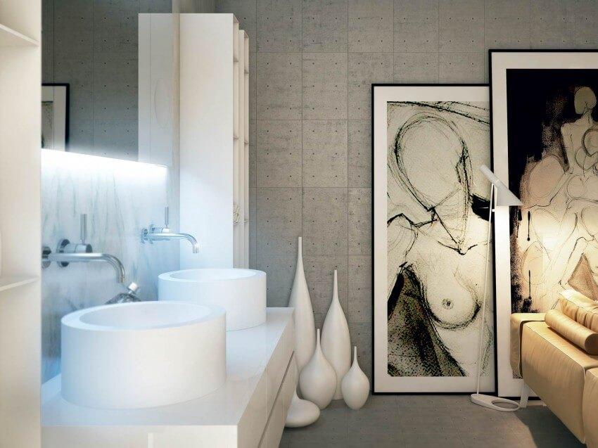 Modern Bathrooms Decoration