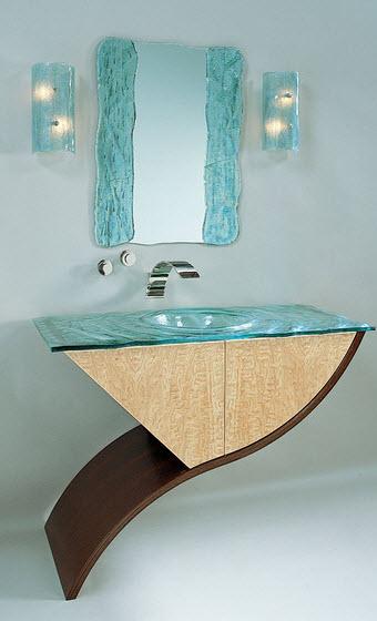 Original design of bathroom
