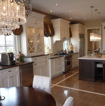 Types of Kitchen Floor Design (Photos) -