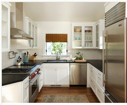 Classic U-shaped kitchen