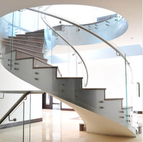 Large spiral staircase design