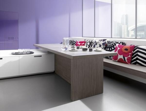 Minimalist island kitchen design