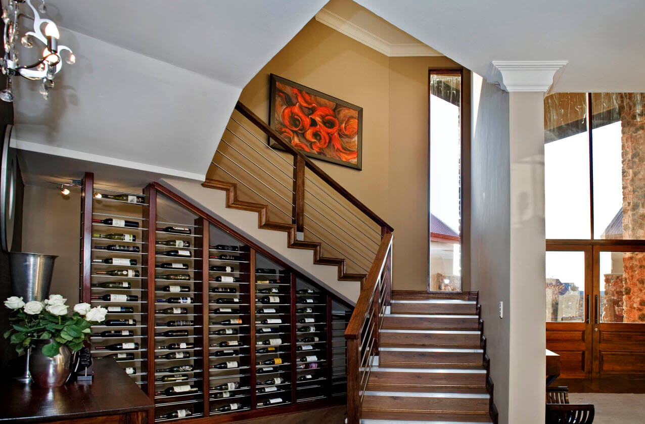 Modern classic staircase
