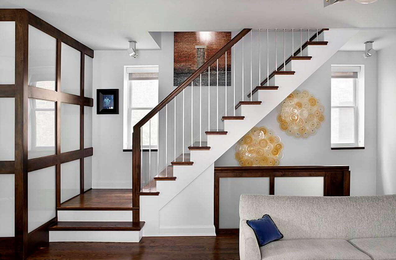 Simple and modern staircase design