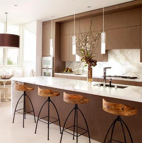 Small kitchen with minimalist design