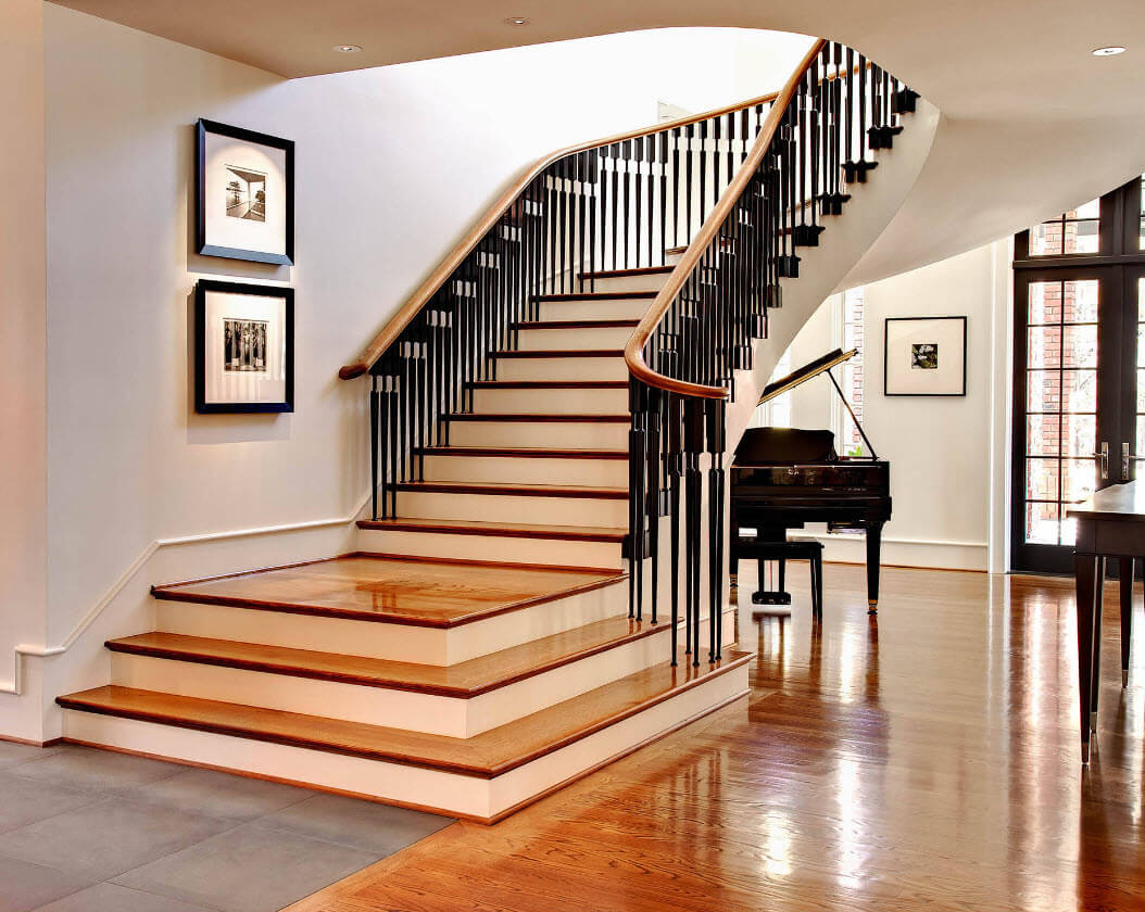 modern classic stairs design