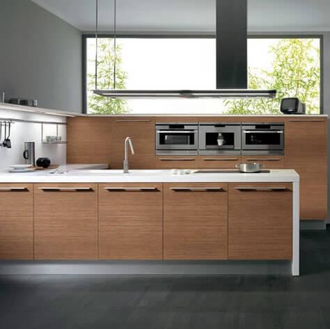 wooden kitchen furniture design