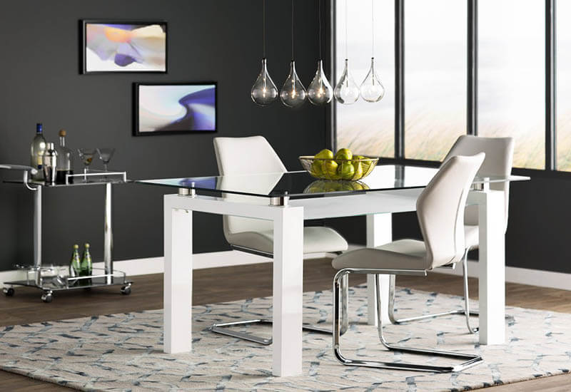 contemporary 5 light pendant for dining room